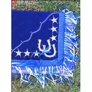 917 Western Show Barrel Racing Rodeo Saddle Blanket Pad