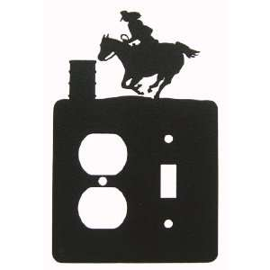Barrel Race Single Switch & Outlet Plate Cover