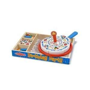 Play Kitchen Wooden Birthday Cake Set   Ages 3+