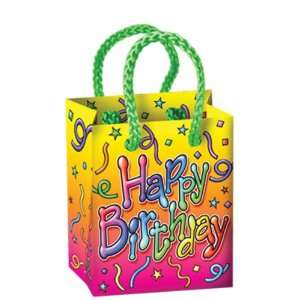Happy Birthday Mini Gift Bag Party Favors Case Pack 156