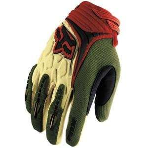 Fox Racing Youth Blitz Gloves   2007   Medium/Green