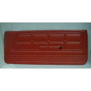 DOOR PANEL FRONT FORD RNGR 70 XLT RED