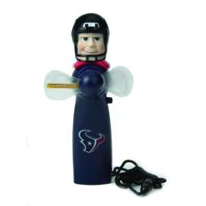 Texans Magical LED Light Up Fan and Display Stand