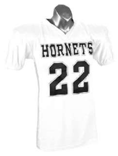 Official Issue Nylon Custom Football Game Jerseys WHITE