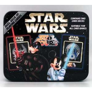 Disney Star Wars Mickey Mouse Playing Cards   Sith and