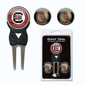 South Carolina Gamecocks Ncaa Divot Tool Pack W/Signature Tool