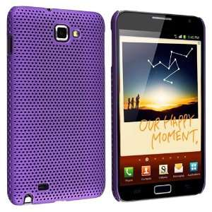 Snap on Case for Samsung Galaxy Note N7000, Purple Meshed