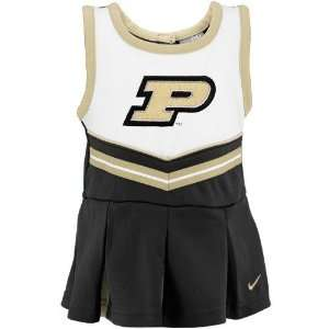 Nike Purdue Boilermakers Girls Toddler Cheerleader Set