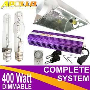 Apollo 400w Watt HPS MH Grow Light w/ Dimmable Ballast