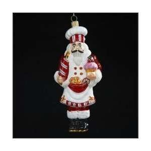 Gingerbread Kisses Polonaise Christmas Ornament 6.5