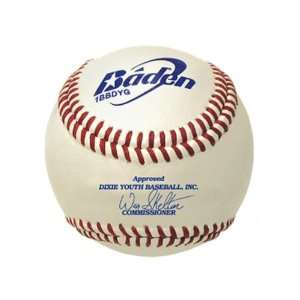 Baden Dixie Boys/Majors League Youth Baseballs WHITE