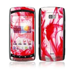 LG Ally VS740 Skin Decal Sticker   Rose Red Everything
