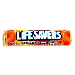 Lifesavers Candy Tropical Fruits   14 Pieces / Pack, 20 Packs