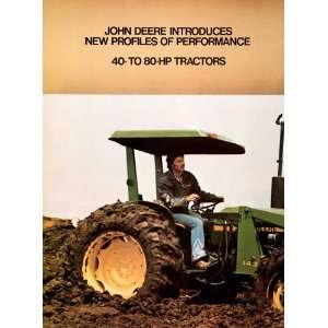 1979 Ad John Deer Tractor Farming Equipment Machinery