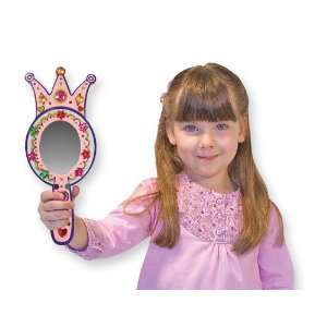 Melissa & Doug Wooden Princess Mirror   DYO Case Pack 2