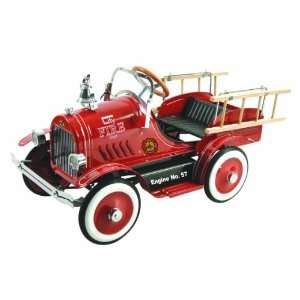 Dexton Deluxe Fire Truck Pedal Car Toys & Games