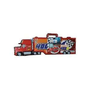/ Pixar Cars Mack Truck Transporter 16 Car Carrying Case 155 Scale