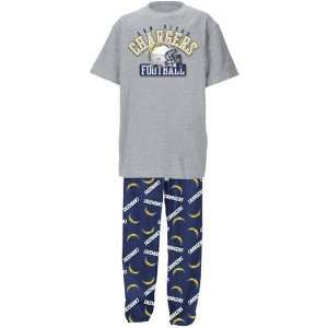 San Diego Chargers NFL Youth Short SS Tee & Printed Pant
