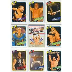 WWE Wrestling Trading Card Set  90 Card Hand Collated set features WWE
