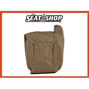 02 Chevy Silverado Med Neutral Leather Seat Cover LH top Automotive