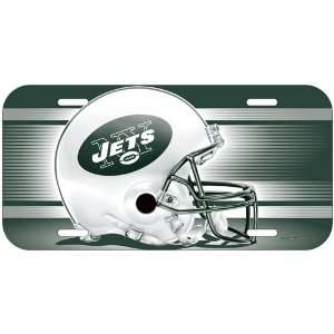 New York Jets Nfl Plastic License Plate Wincraft