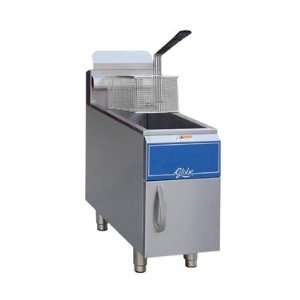 Globe 15 lb. Natural Gas Countertop Fryer