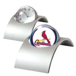 St. Louis Cardinals MLB Spinning Desk Clock