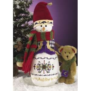 Boyds Bears Jim Shore Collection   A Winters Day 12 Snowman with 6