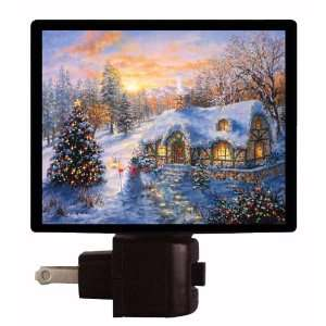 Christmas Night Light   Christmas Cottage   LED NIGHT