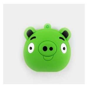 New Angry Bird Style Cartoon USB Flash Drive(Green Pig