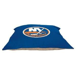 New York Islanders 27x36 Plush Pet Dog Bed / Large Pillow