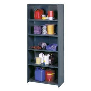 II Series Industrial Grade Shelving Closed Back 48 W x 18 D x 85 H