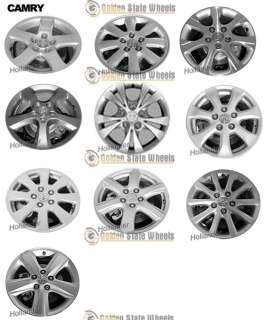 FACTORY TOYOTA CAMRY ALLOY WHEEL CHROME HUB CENTER CAP