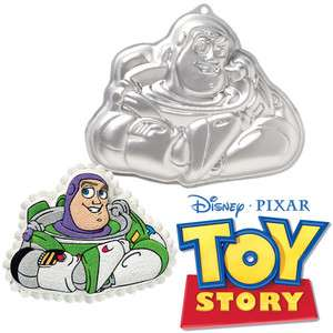 Disney Toy Story Buzz Lightyear Shaped Novelty Birthday Party Cake Pan