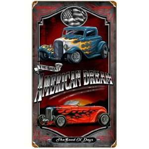 American Dream Hot Rod Sign