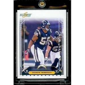 Set Single Card # 228 Shawne Merriman   San Diego Chargers   NFL