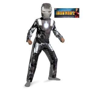 Classic Iron Man 2 War Machine Costume Size Medium